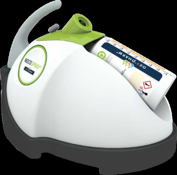 Nocospray - urządzenie używane podczas zamgławiania